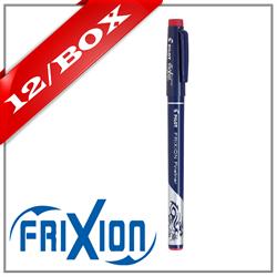 Frixion Fineliner Felt Marker - RED x 12 UNITS