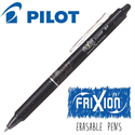 Additional Images for Frixion Clicker (.7) Heat Erase Pen - BLACK