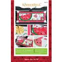 Slice of Summer Watermelon - Bench Pillow