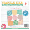 """Additional Images for Sparkle Star Quilt Block Foundation Paper - 6"""""""