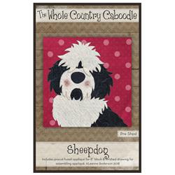 Sheepdog Precut Fused Appliqué Kit