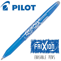 Frixion Pen Fine Point (.7 mm) Heat Erase - SKY BLUE