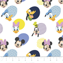 """Additional Images for Mickey Mouse Hello Memphis - WHITE - 44"""" x 13.7 M"""