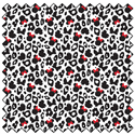 """Additional Images for Minnie Leopard Print - BLACK - 44"""" x 13.7 M"""