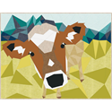 Additional Images for The Cow Abstractions Quilt Pattern