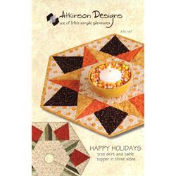 Happy Holidays Pattern