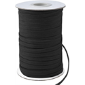 "Additional Images for Elastic -  BLACK- 1/4"" x 288 YDS"