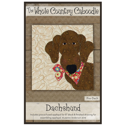 Dachshund Precut Fused Appliqué Kit