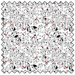 """101 Dalmatians Family Portrait - 44"""" x 13.7 M"""