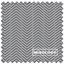 """Herringbone - IRON - 44"""" x 13.7 M"""