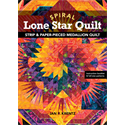Additional Images for Spiral Lone Star Quilt