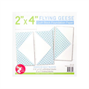 "Flying Geese Quilt Block Foundation Paper - 2"" x 4"""