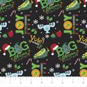 "Additional Images for Christmas Vacation Big Christmas - BLACK - 44"" x 13.7 M"