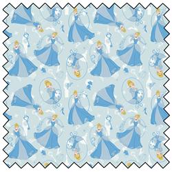 "Cinderella - BLUE - 44"" x 13.7 M"