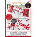 Additional Images for O, Canada! - Bench Pillow Machine Embroidery CD