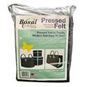 """Pressed Felt - GREY - 36"""" x 50"""""""