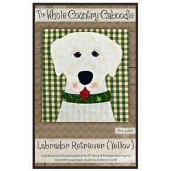 Labrador Retriever (Yellow) Precut Fused Appliqué Kit