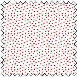 "Star Cluster - WHITE - 44"" x 13.7 M"