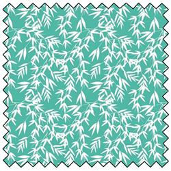 "Kyoto Bamboo Leaves - JADE - 44"" x 10 M"