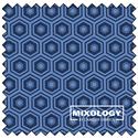 "Honeycomb - NAVY - 44"" x 13.7 M"