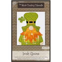 Irish Gnome Precut Fused Appliqué Kit