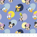 """Additional Images for Mickey Mouse Hello Memphis - PERIWINKLE - 44"""" x 13.7 M"""