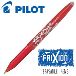 Frixion Pen Fine Point (.7 mm) Heat Erase - RED