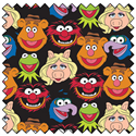 "Additional Images for The Muppets Cast - BLACK - 44"" x 13.7 M"