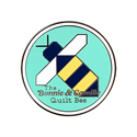 Additional Images for Quilt Bee Enamel Needle Minder