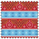 "Additional Images for Wonder Woman Fair Isle - AQUA - 44"" x 13.7 M"