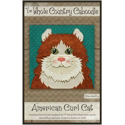 American Curl Precut Fused Appliqué Kit