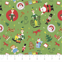 """Additional Images for Elf Play Time Toss - GREEN  - 44"""" x 13.7 M"""