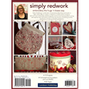 Additional Images for Simply Redwork Embroidery the Hug 'n Kisses Way