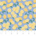 "Additional Images for Lemons - BLUE - 44"" x 13.7 M"