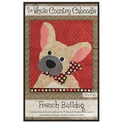 French Bulldog Precut Fused Appliqué Kit