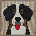 Additional Images for Bernese Mountain Dog Precut Fused Appliqué Kit