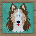 Additional Images for Collie / Sheltie Brown Precut Fused Appliqué Kit