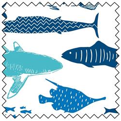 """Explore Ocean Fish - 44"""" x 10 M"""