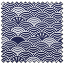 "Additional Images for Waves - NAVY - 44"" x 10 M"