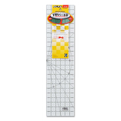 Frosted Acrylic Olfa Ruler 6 x 24 - The Essential