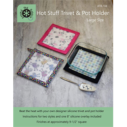 Hot Stuff Trivet & Pot Holder - LARGE