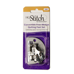 Convertible Free-Motion Quilting Kit for HQ Stitch 510