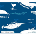"Additional Images for Explore Ocean Whales - 44"" x 10 M"