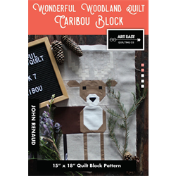 Wonderful Woodland Quilt - CARIBOU BLOCK