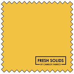 "Fresh Solids - GOLD - 44"" x 13.7 M"