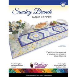 Sunday Brunch Table Topper Pattern