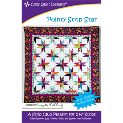 Pointy Strip Star Pattern