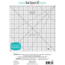 "Sew Square 10"" Ruler"