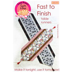 Fast to Finish Tablerunners