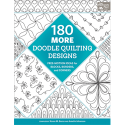 180 More Doodle Quilting Designs - JUNE 2018
